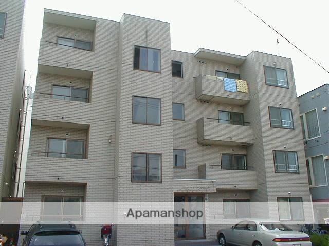 北海道札幌市中央区、電車事業所前駅徒歩5分の築28年 4階建の賃貸マンション