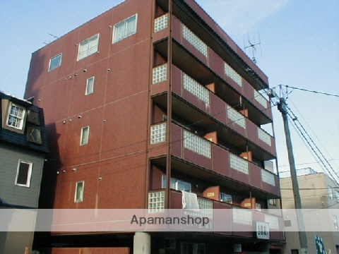 北海道札幌市中央区、桑園駅徒歩17分の築23年 6階建の賃貸マンション