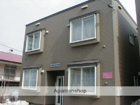 北海道札幌市中央区、二十四軒駅徒歩16分の築20年 2階建の賃貸アパート