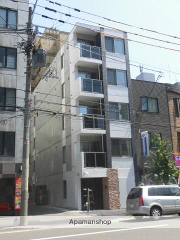 北海道札幌市中央区、札幌駅徒歩13分の築1年 5階建の賃貸マンション