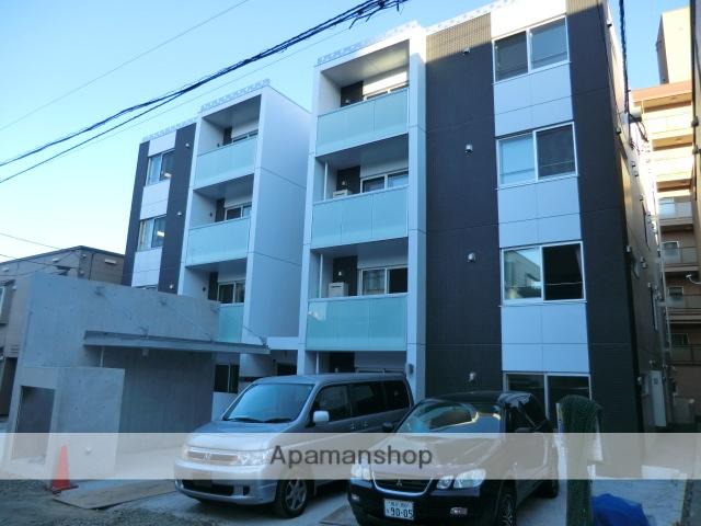 北海道札幌市中央区、二十四軒駅徒歩16分の築4年 4階建の賃貸マンション