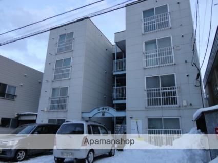 北海道札幌市中央区、幌平橋駅徒歩14分の築31年 4階建の賃貸アパート