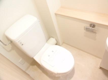 レジディア南1条[1K/21.23m2]のトイレ