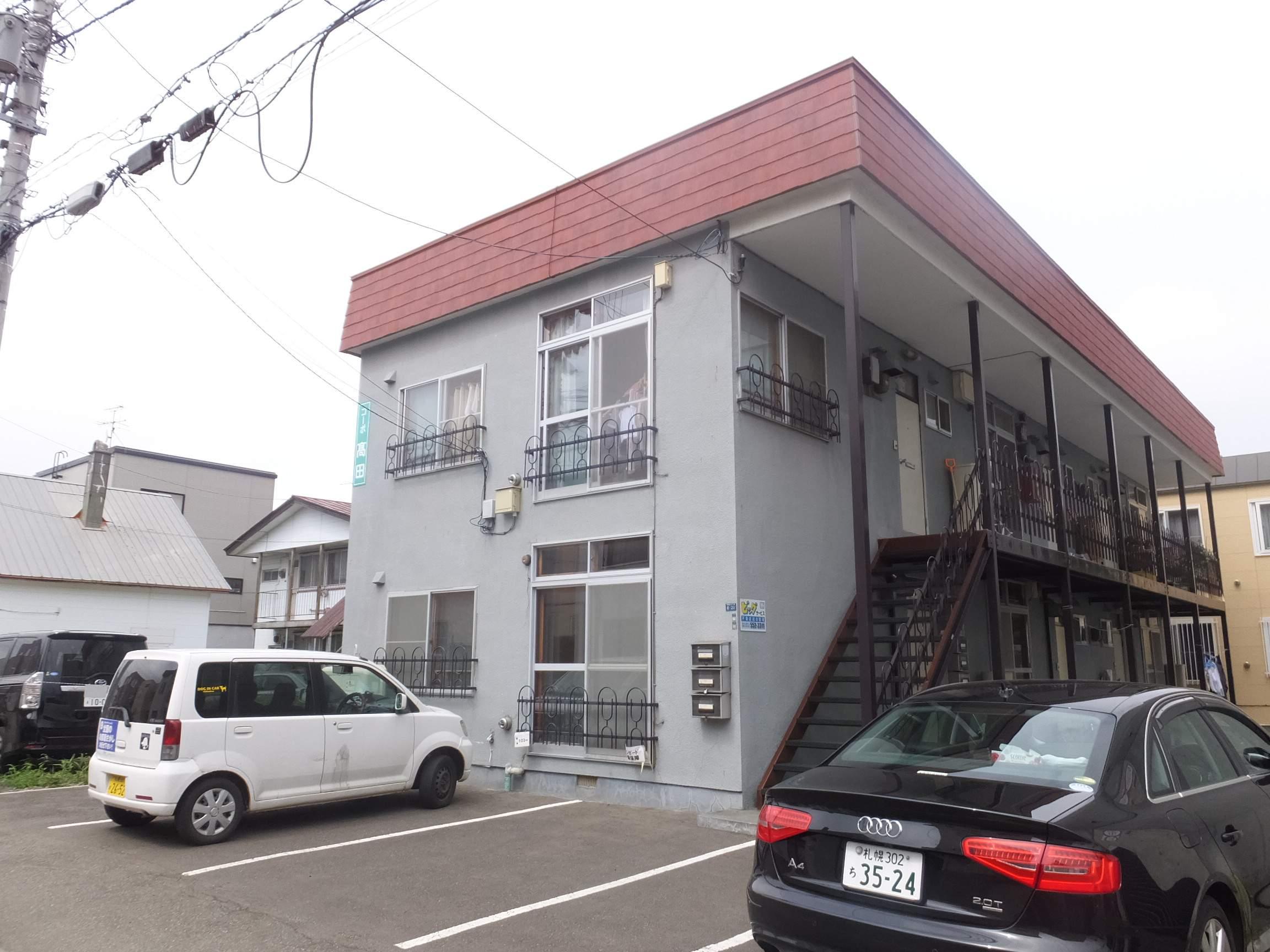 北海道札幌市白石区、南郷7丁目駅徒歩10分の築34年 2階建の賃貸アパート