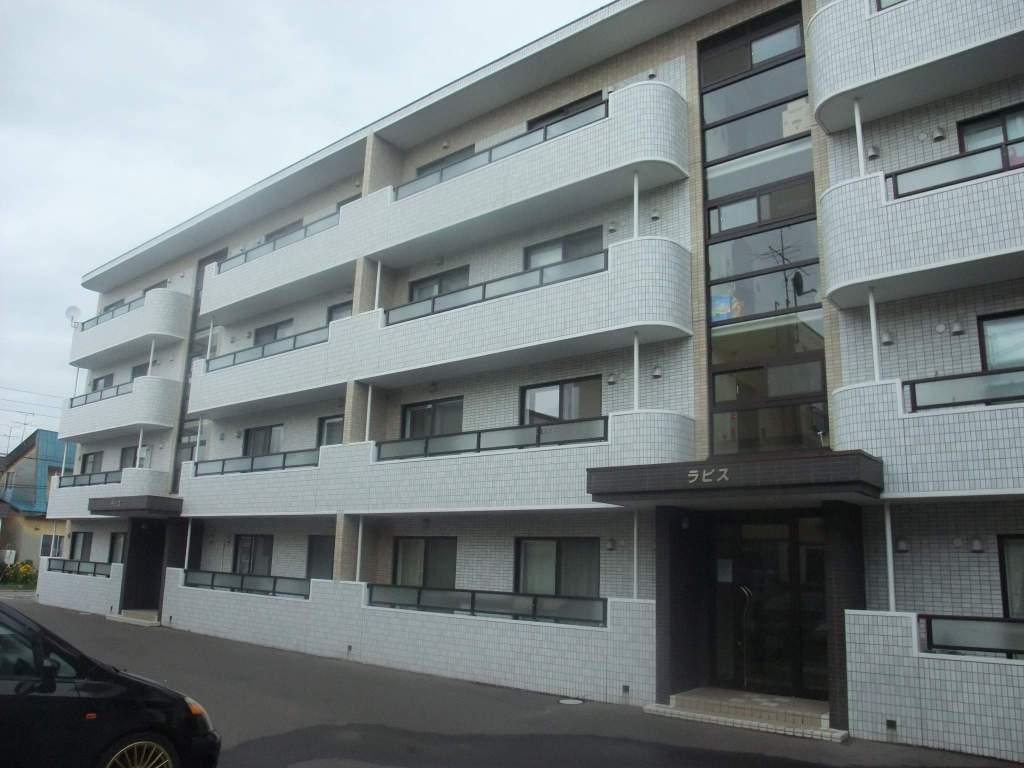 北海道札幌市白石区、白石駅徒歩20分の築9年 4階建の賃貸マンション