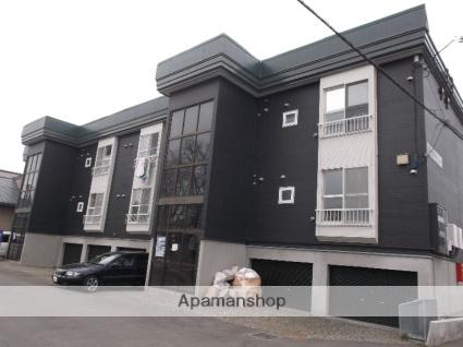 北海道札幌市白石区、白石駅徒歩10分の築22年 3階建の賃貸アパート
