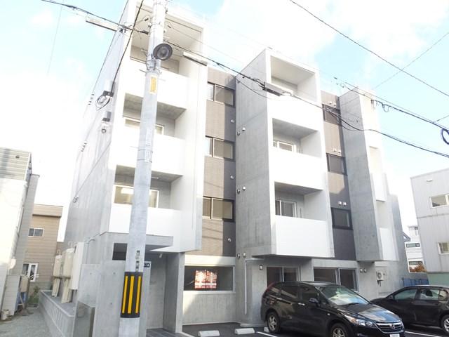 北海道札幌市白石区、苗穂駅徒歩17分の築1年 4階建の賃貸マンション