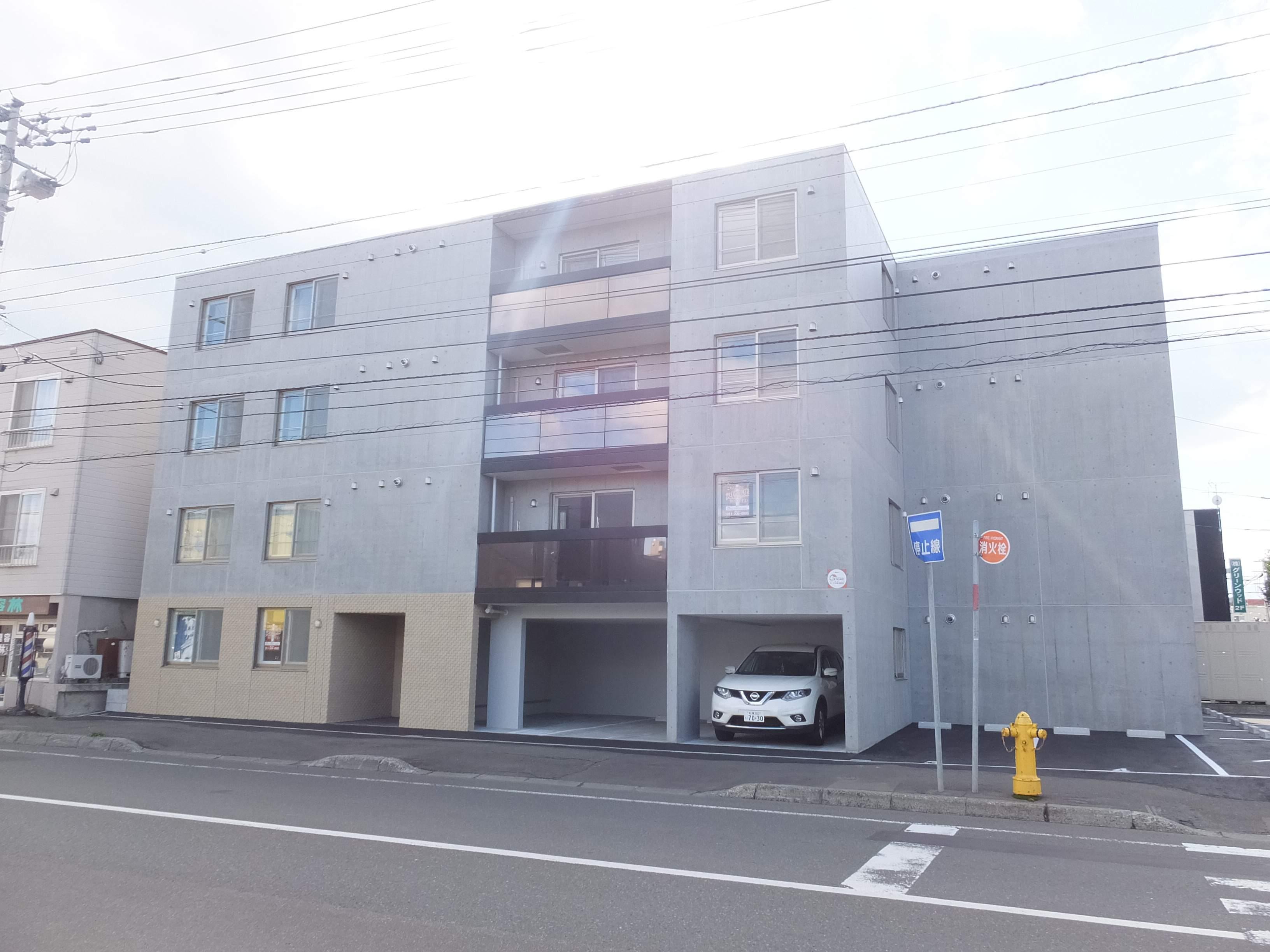 北海道札幌市豊平区、白石駅徒歩12分の新築 4階建の賃貸マンション
