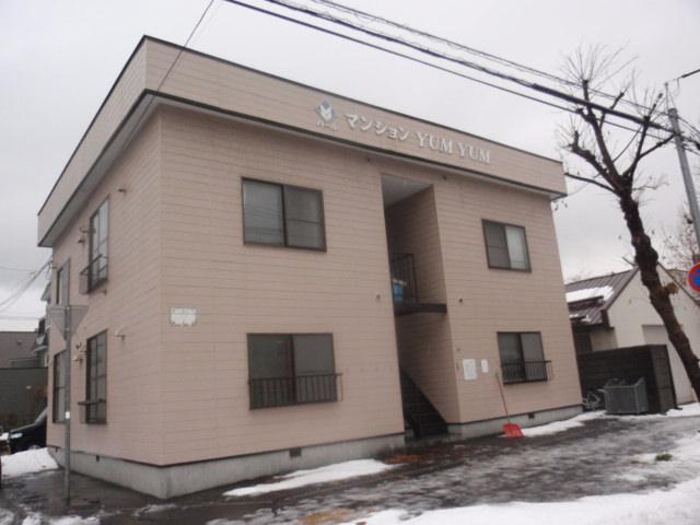 北海道札幌市白石区、菊水駅徒歩6分の築34年 2階建の賃貸アパート