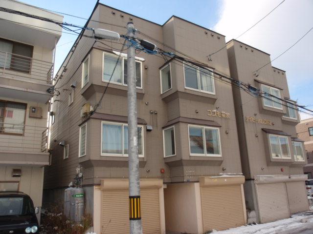 北海道札幌市白石区、苗穂駅徒歩12分の築21年 3階建の賃貸アパート