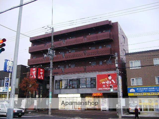 北海道札幌市白石区、平和駅徒歩9分の築26年 5階建の賃貸マンション