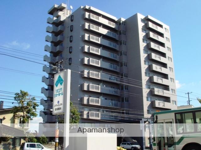北海道札幌市白石区、バスセンター前駅徒歩17分の築26年 11階建の賃貸マンション