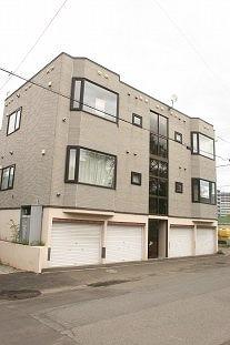 北海道札幌市豊平区、菊水駅徒歩16分の築19年 3階建の賃貸アパート
