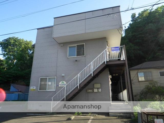 北海道室蘭市、輪西駅徒歩4分の築19年 2階建の賃貸アパート