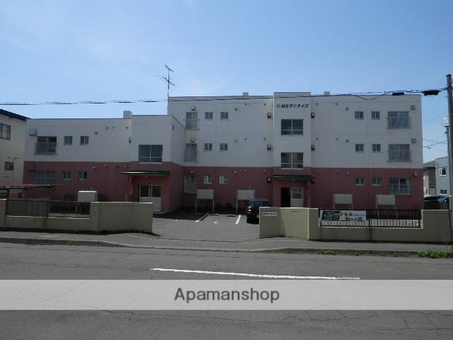 北海道室蘭市、東室蘭駅徒歩15分の築36年 3階建の賃貸マンション