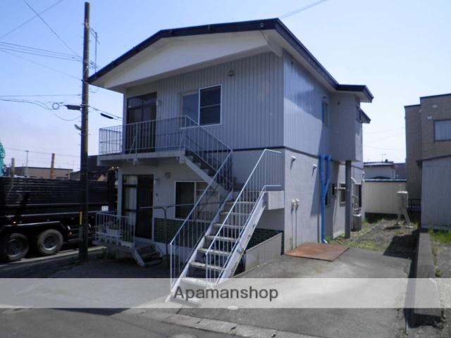 北海道登別市、鷲別駅徒歩17分の築36年 2階建の賃貸アパート