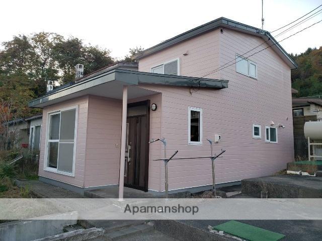 北海道室蘭市、鷲別駅徒歩17分の築43年 2階建の賃貸一戸建て