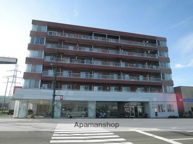 北海道室蘭市の築34年 6階建の賃貸マンション