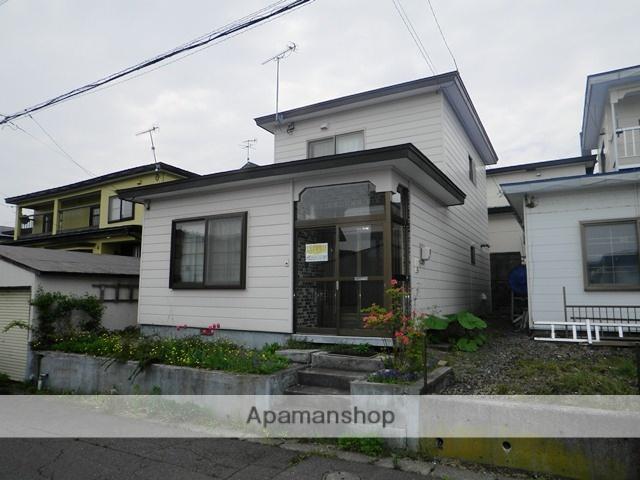 北海道登別市の築38年 2階建の賃貸一戸建て