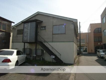 北海道室蘭市、輪西駅徒歩8分の築19年 2階建の賃貸アパート