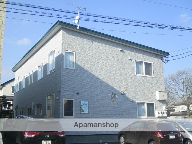 北海道登別市の築5年 2階建の賃貸アパート