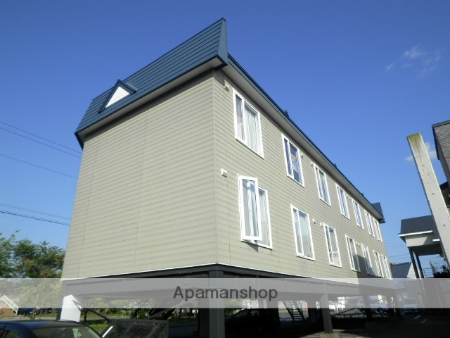 北海道登別市の築25年 3階建の賃貸アパート
