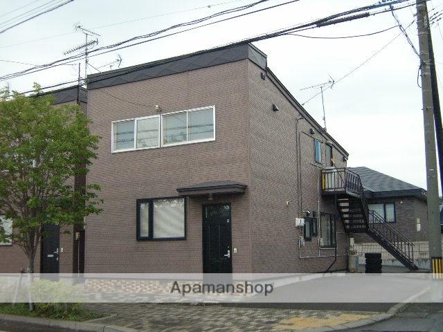 北海道登別市の築35年 2階建の賃貸アパート