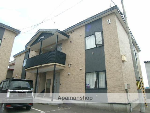 北海道室蘭市、本輪西駅徒歩8分の築21年 2階建の賃貸アパート
