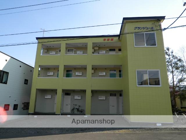 北海道室蘭市、鷲別駅徒歩18分の築22年 3階建の賃貸マンション