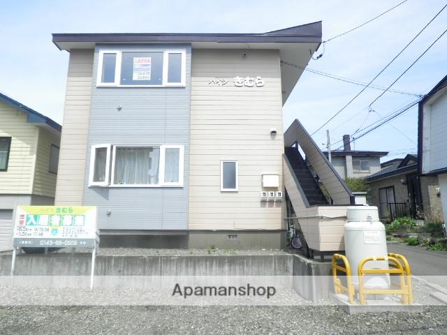 北海道登別市、幌別駅徒歩17分の築23年 2階建の賃貸アパート