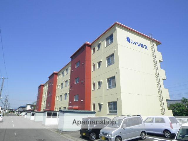 北海道登別市の築31年 4階建の賃貸マンション
