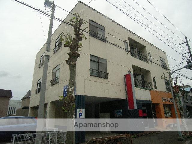 北海道室蘭市の築35年 3階建の賃貸マンション