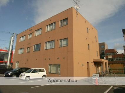 北海道室蘭市、東室蘭駅徒歩2分の築9年 3階建の賃貸マンション