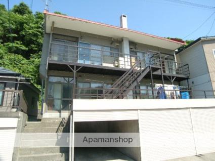 北海道室蘭市の築43年 2階建の賃貸アパート