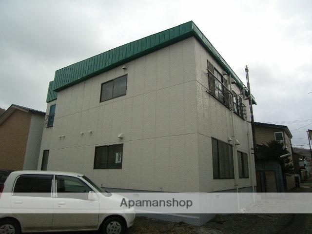 北海道室蘭市、母恋駅徒歩5分の築35年 2階建の賃貸アパート
