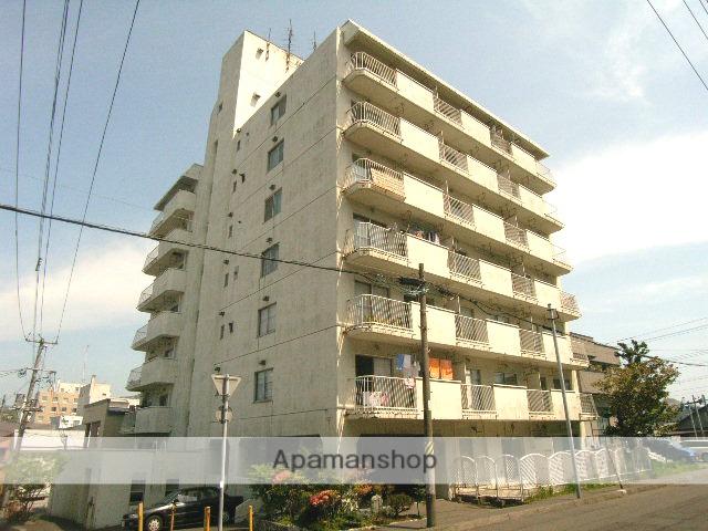 北海道室蘭市、室蘭駅徒歩9分の築40年 7階建の賃貸マンション