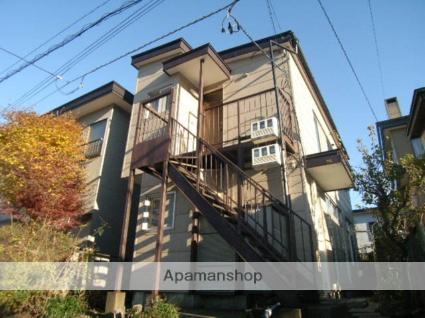 北海道室蘭市の築35年 2階建の賃貸アパート