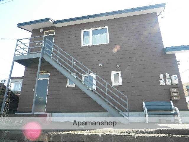北海道室蘭市の築27年 2階建の賃貸アパート