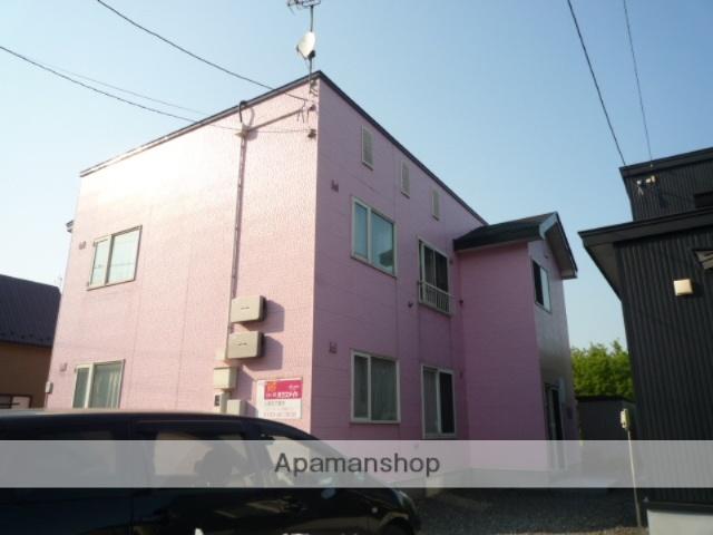 北海道室蘭市の築14年 2階建の賃貸アパート