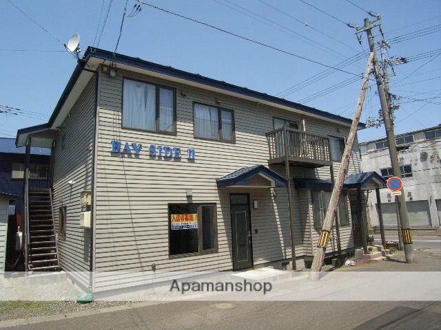 北海道室蘭市の築16年 2階建の賃貸アパート