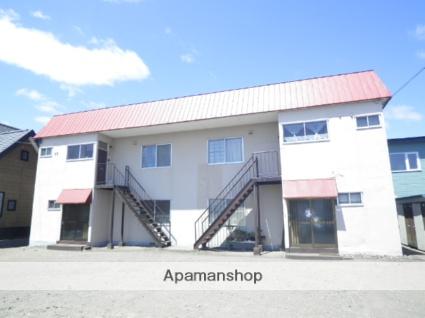 北海道登別市の築39年 2階建の賃貸アパート