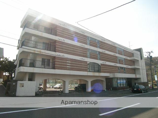北海道室蘭市、東室蘭駅徒歩19分の築34年 4階建の賃貸マンション