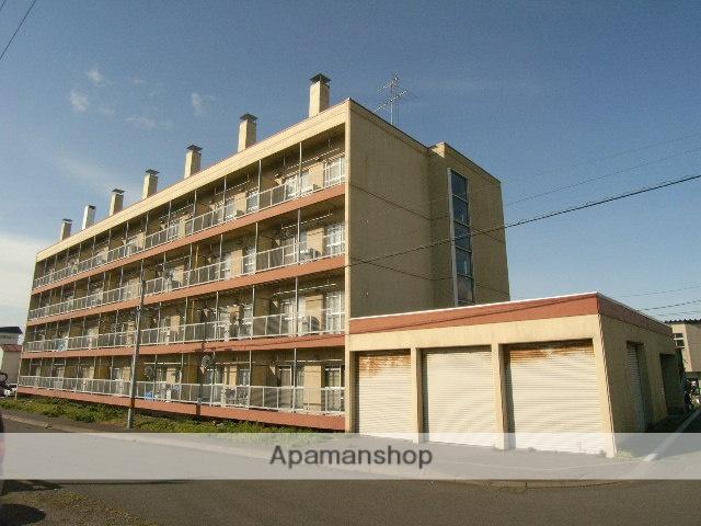 北海道室蘭市、鷲別駅徒歩16分の築38年 4階建の賃貸マンション
