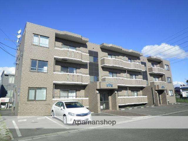 北海道登別市、鷲別駅徒歩10分の築17年 3階建の賃貸マンション
