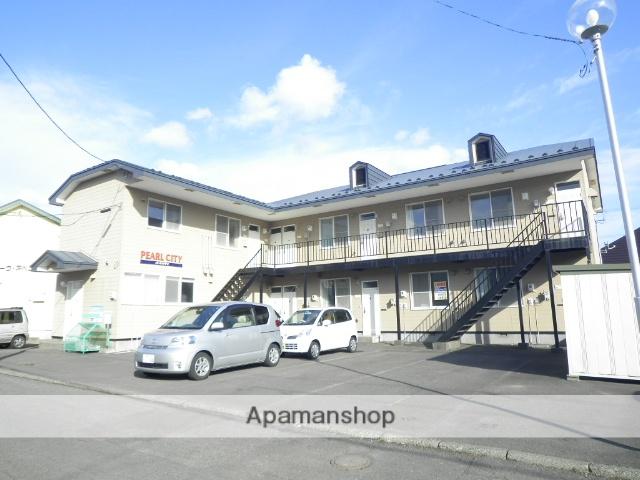 北海道登別市の築28年 2階建の賃貸アパート