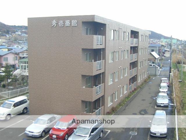 北海道室蘭市、東室蘭駅徒歩10分の築17年 4階建の賃貸マンション