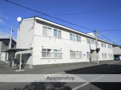 北海道登別市、鷲別駅徒歩13分の築28年 2階建の賃貸アパート
