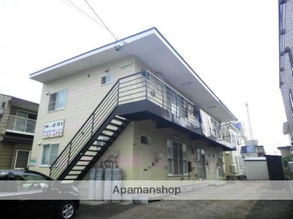 北海道登別市の築24年 2階建の賃貸アパート