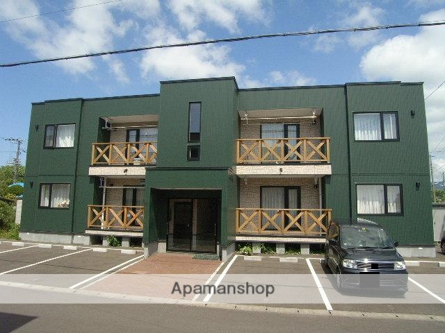 北海道登別市、鷲別駅徒歩9分の築11年 2階建の賃貸アパート