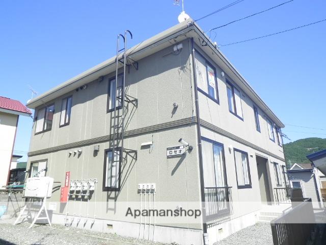 北海道室蘭市の築17年 2階建の賃貸アパート